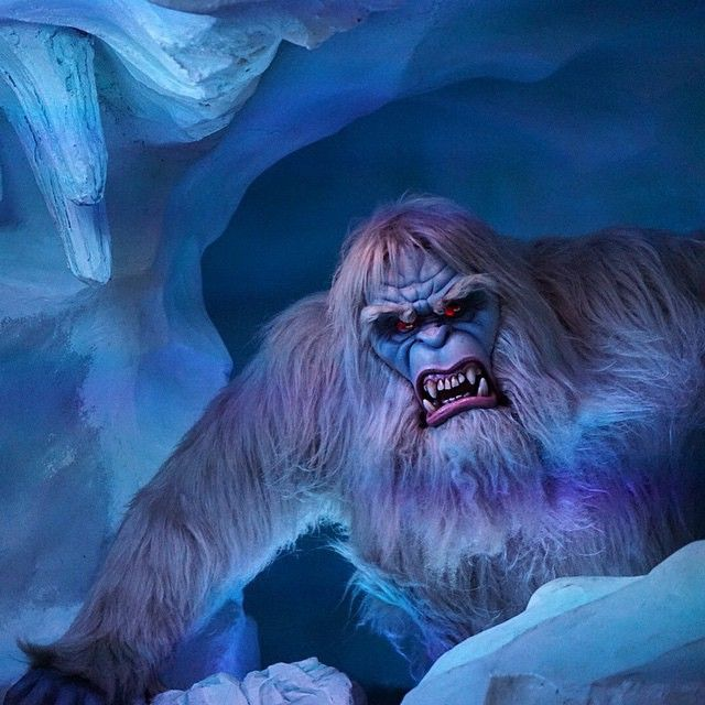 He's now bigger and scarier in 2015. Disneyland On Instagram Folklore Has It That A Growling Monster Lives Inside The Matterhorn Photo Michaelng Disneyland Magic Kingdom Photo