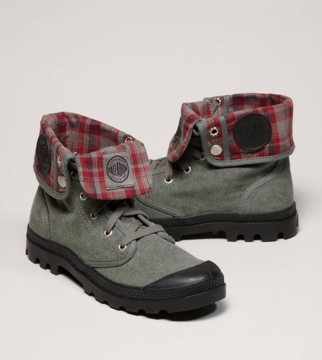 Palladium Baggy Canvas Boot