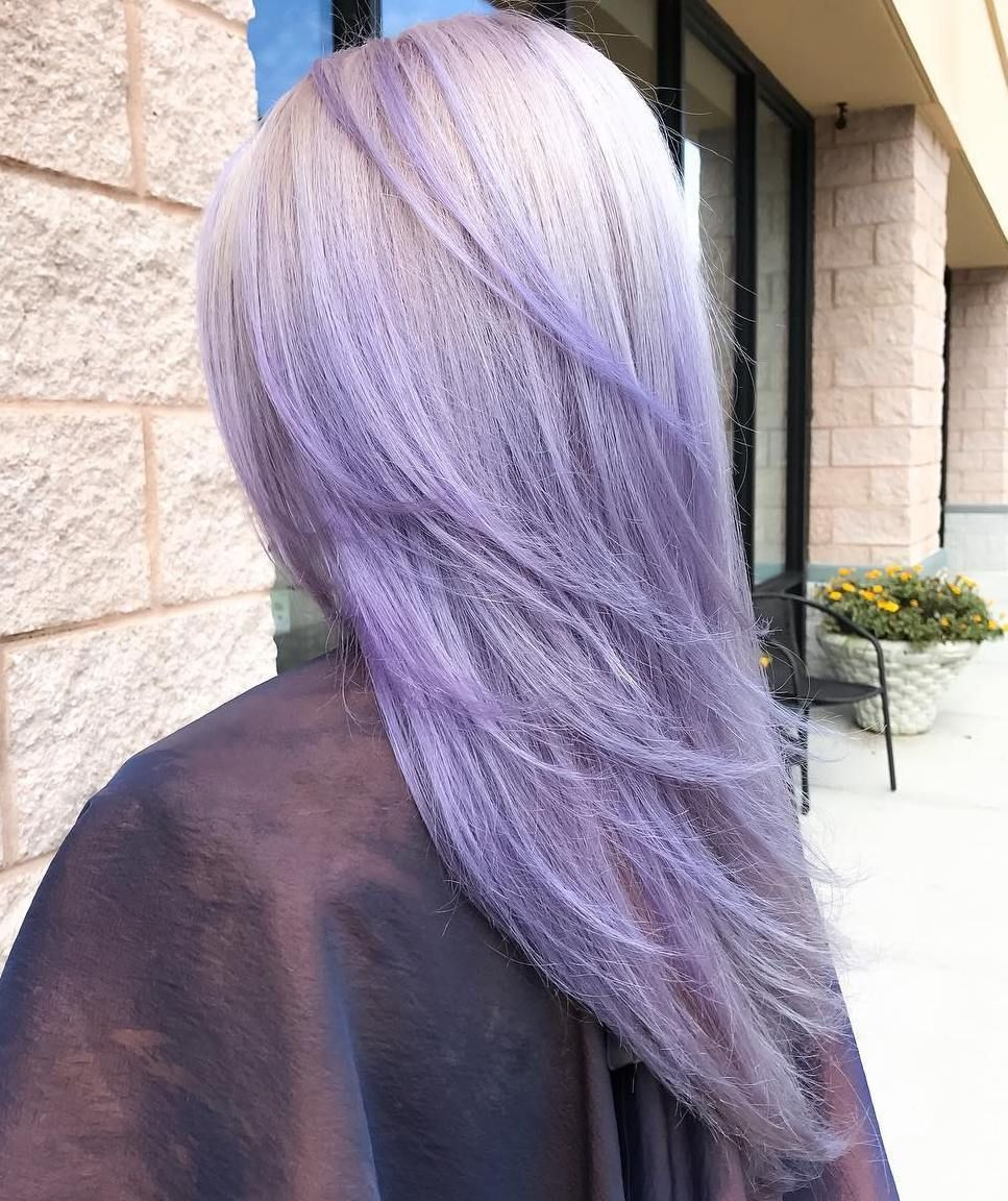 50 Cool Ideas Of Lavender Ombre Hair And Purple Ombre Lavender Hair Ombre Purple Ombre Hair Light Purple Hair