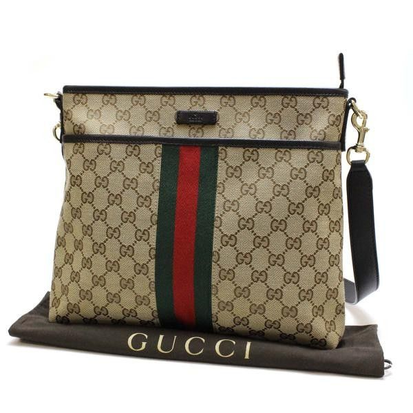 7c946ac0762 GUCCI GG Canvas Cross body bags Brown Canvas 388926