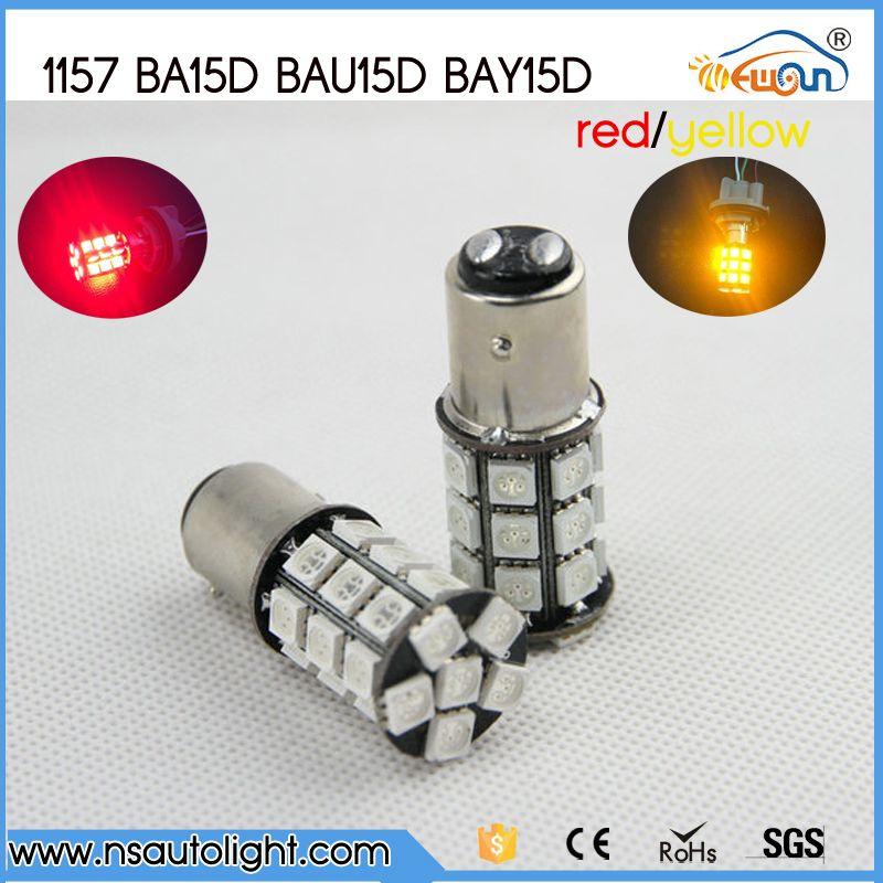 1157 Two Pole Ba15d Baz15d Bay15d Led Rear Tail Stop Lights Led Parking Light Bulb 27 Smd 5050 12v Car 1157 Socket Lamp Car Lights Led Bulb Stop Light