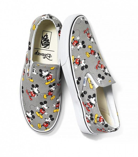 vans mickey mouse zapatillas mujer
