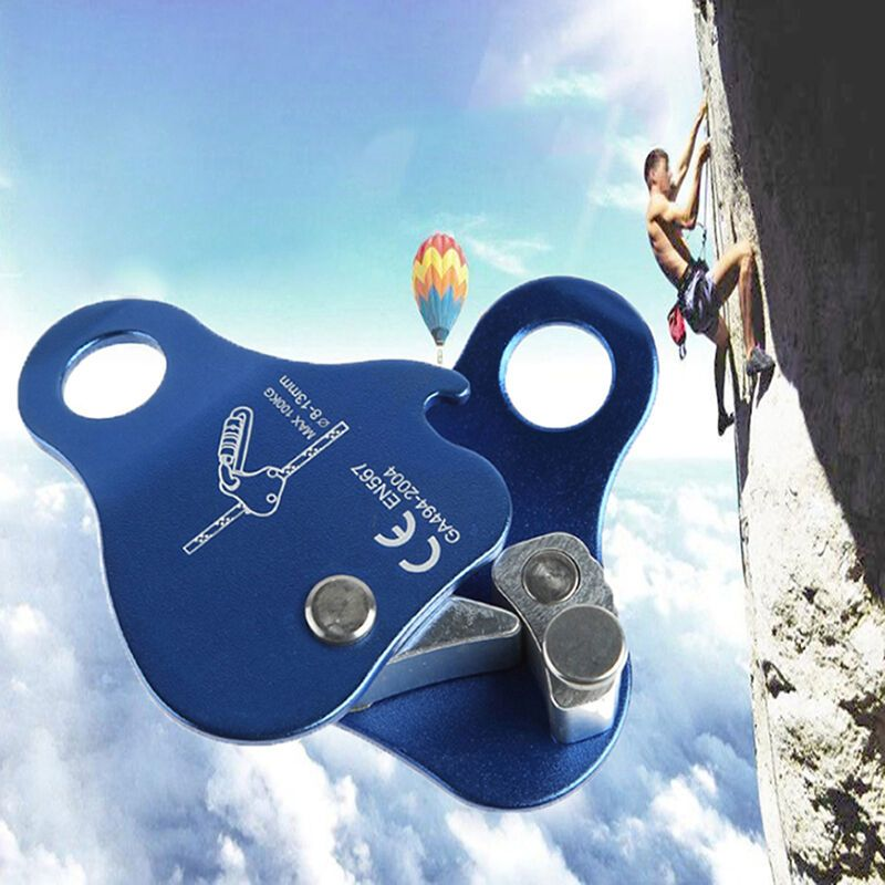 Mountaineering Rock Climbing Tree Carving 24KN Carabiner Abseiling Equipment