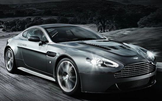 Aston Martin V12 Vantage end production model.