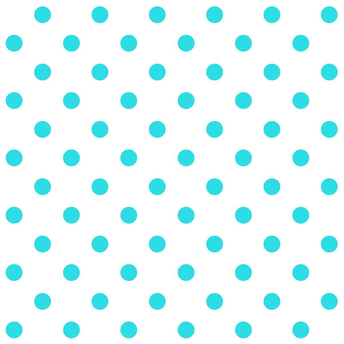 Scrapbook paper clouds - Free Printable Blue Polka Dot Pattern Paper