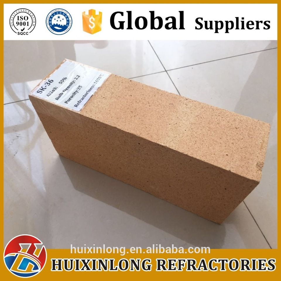Refractory Brick Refractory Brick Sk34 Sk36 Sk38 Sk40 Fire Clay Brick For Industry