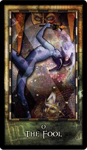 Tarot Card The Fool | From The Archeon Tarot Deck