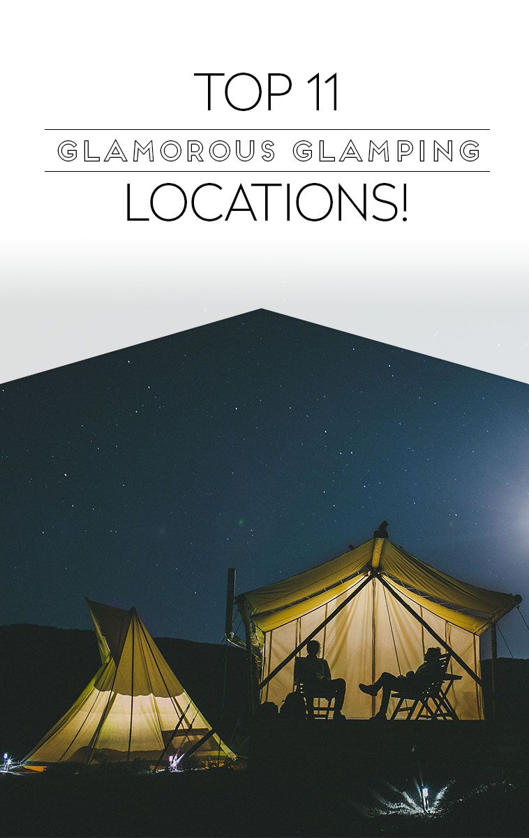 Top 11 Glamping Locations to book this Summer!