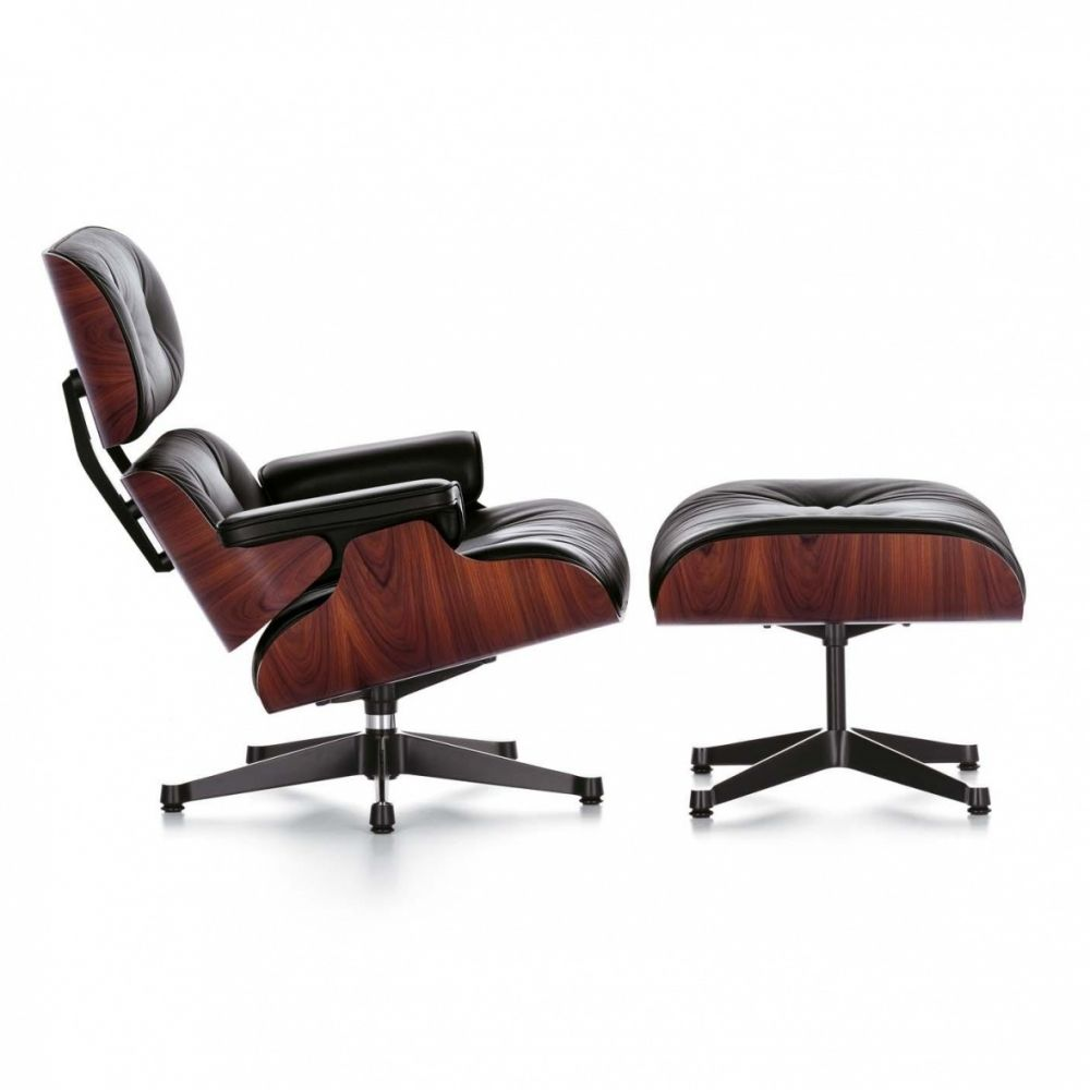 Ottomane Sessel Eames Lounge Chair Sessel Ottoman Miniature Furniture Vitra