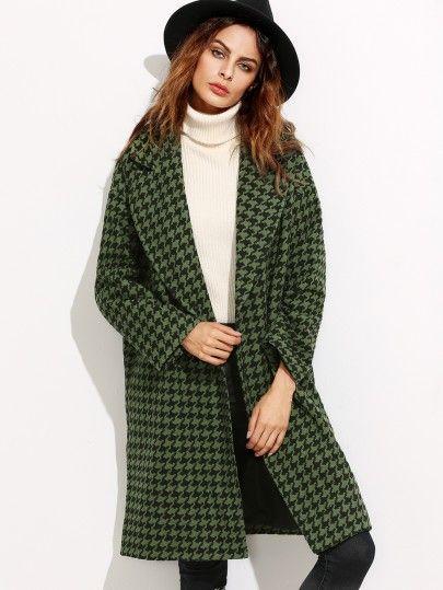 5d5ca25799c2 Damen Mantel 2017 mit verstecker Knopf in Grün   Mäntel   Coat ...