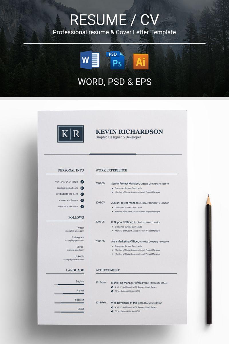 Epingle Sur Resume Design Ideas