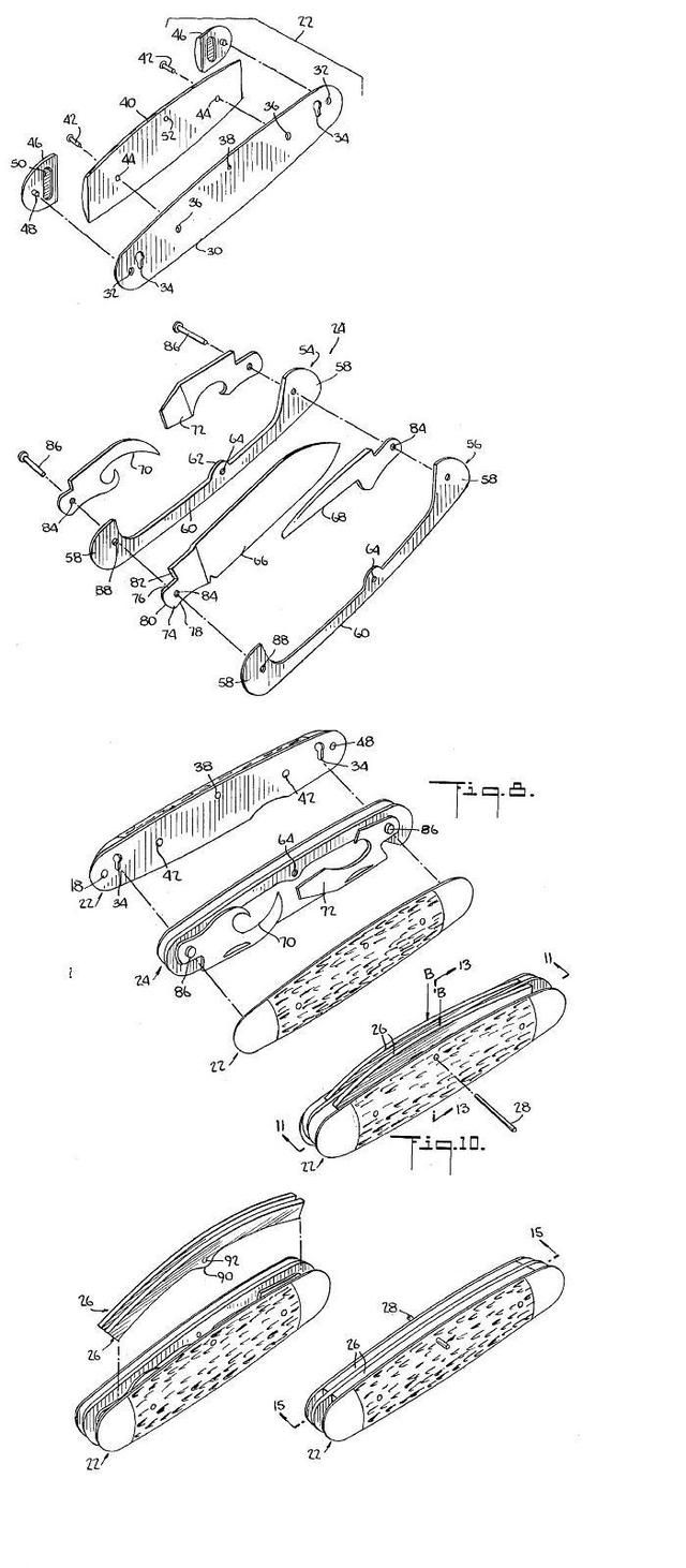 Folding pocket knife with a lock | Tools of the Trade | Pinterest ...