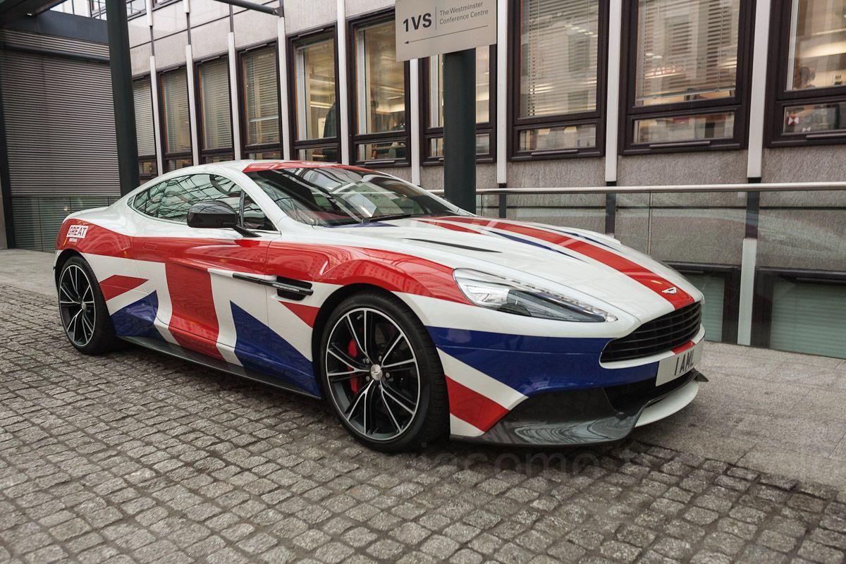 Image Result For Aston Martin Union Jack Paintwork Aston Martin Car Dream Cars