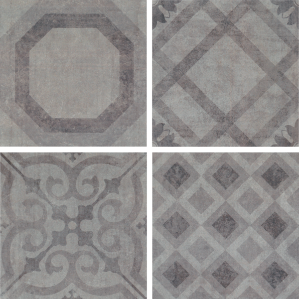 Florida tile -pattern concrete look floor tiles