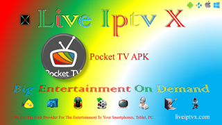 Pocket TV v 1 0 5 APK For Android - Watch Live TV Shows