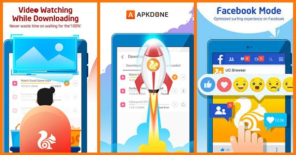UC Browser MOD APK 13.0.8.1291 Download free for Android