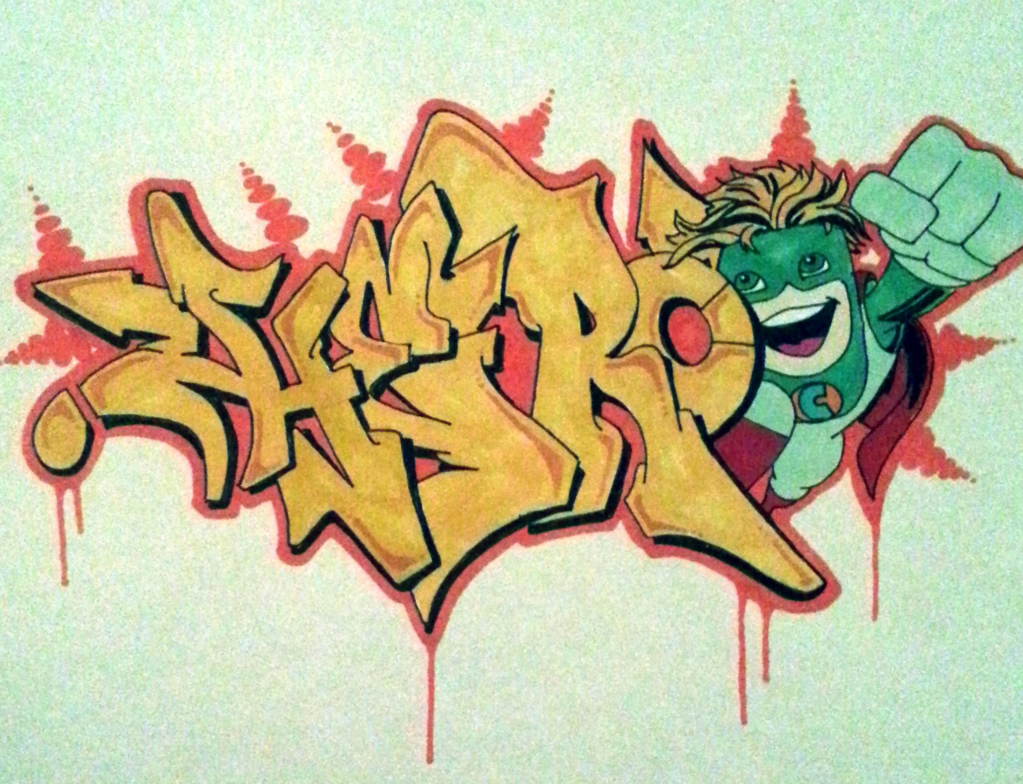 Hero Graffiti Sketch Graffiti Artwork Street Art Graffiti Graffiti