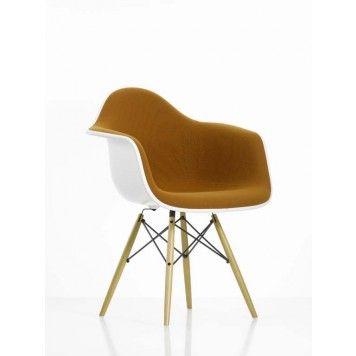 Fesselnd Vitra Eames Plastic Arm Chair DAW Stuhl Vollgepolstert