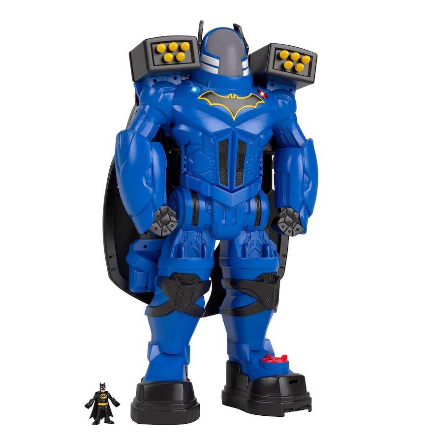 Imaginext DC Super Friends batbot Xtreme Action Figure Toy hero batman comics