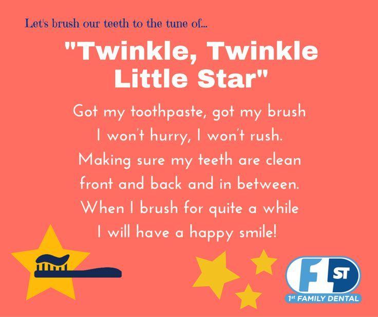 Toothbrushing Songs