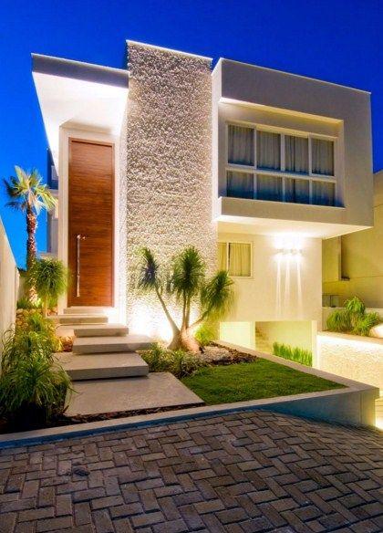 Piedras Naturales Para Fachadas Casa Pinterest House Design