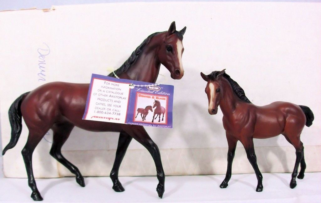 Kelso Qh Foal Denver Blaze Set For Aristoplay W Extras