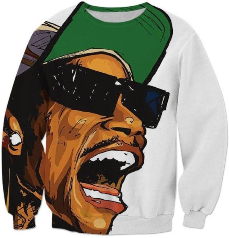 Kush Printed Sweater Mens Womens Fashion Jumper Weed Culture Design Cannabis
