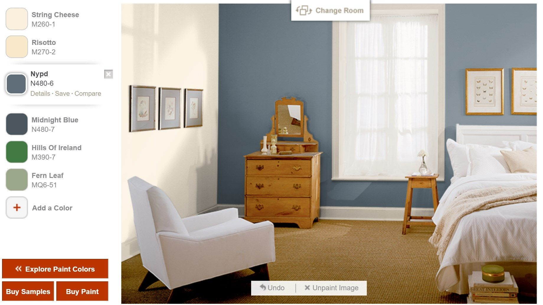 pin by sharon bednarek on house best bedroom colors on behr paint visualizer id=54675