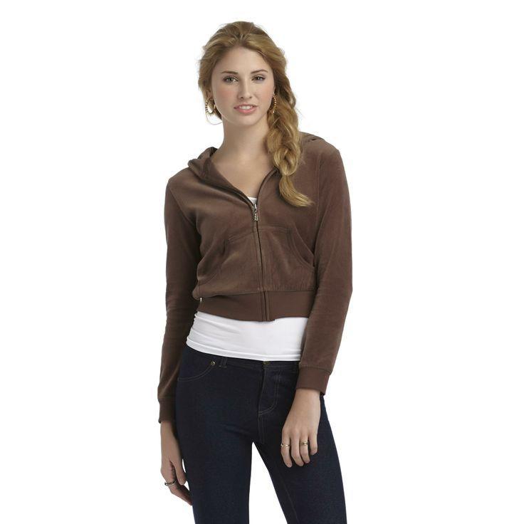 bongo hoodies pics   Bongo- -Junior's Velour Hoodie Jacket-Clothing-Juniors-Activewear ...