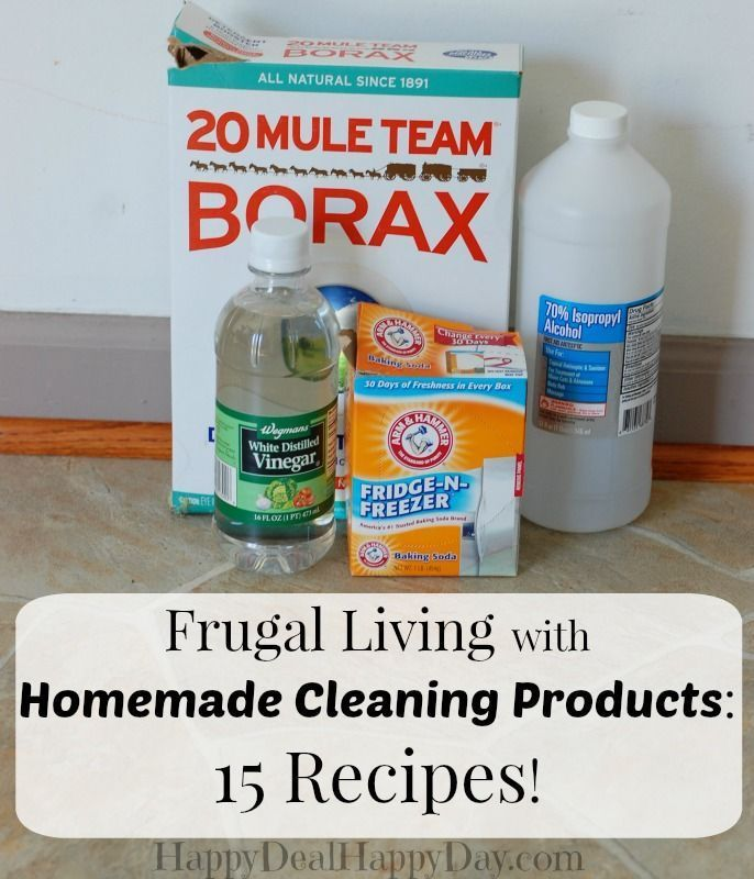 Frugal Living With Homemade Cleaning Products Homemade Cleaning Products Frugal Living And