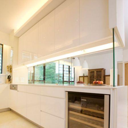 Closing off an open plan kitchen or semi open plan kitchen for Open plan kitchen designs