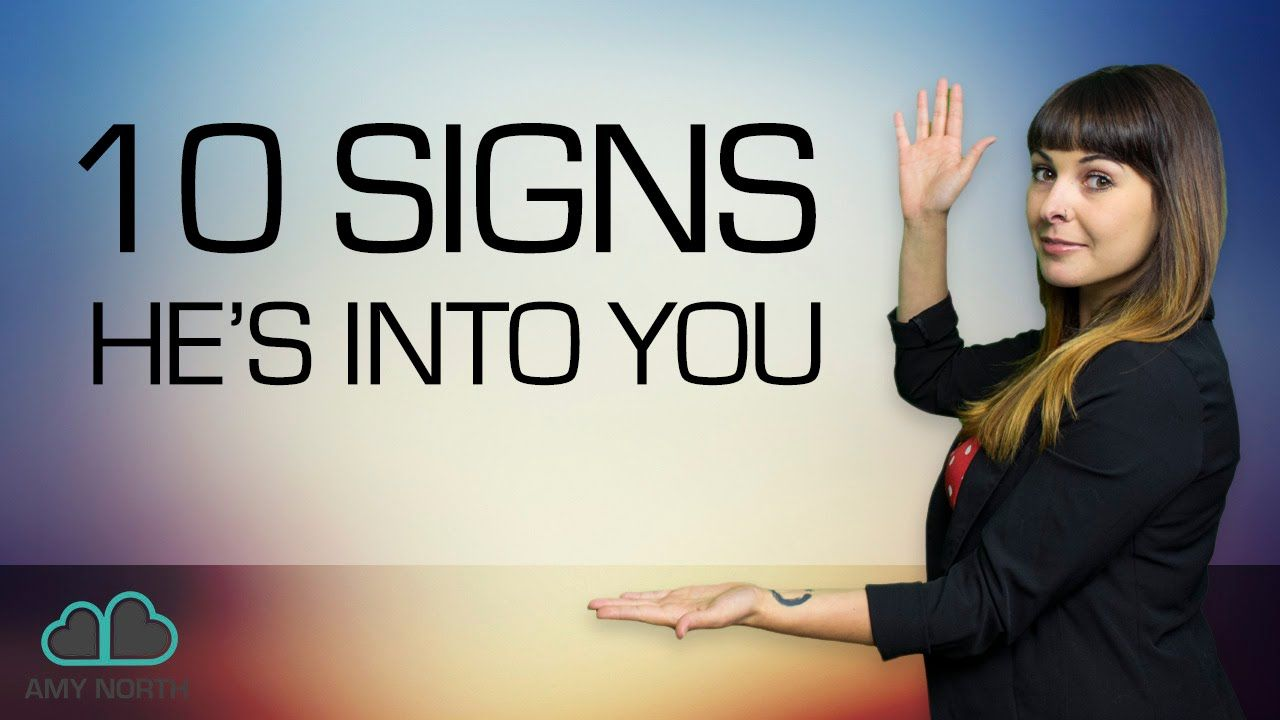 Subtle Signs Hes Into You (Body Language SECRETS