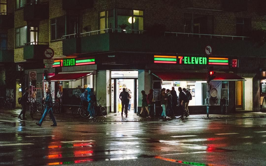 "49 Likes, 2 Comments - Shane Rounce (@shanerounce) on Instagram: ""7-eleven, #copenhagen. This place kept me going for a few days the other week! 👊🤘👍 @7eleven…"""