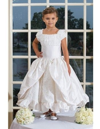 Discontinued Silk Couture First Communion Gown $176.99 Discontinued Dresses