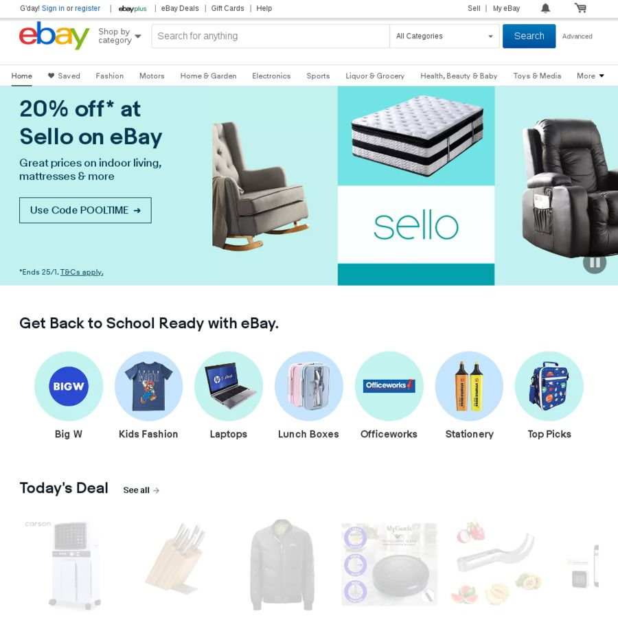 5 Off Everything Ebay No Min Spend May Work On 5 Ebay Gift