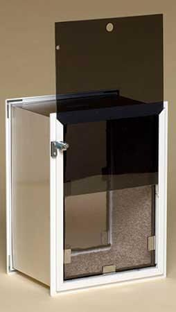 Hale Wall Single Flap   The Hale Security Pet Door For Walls Is A Very  Weather