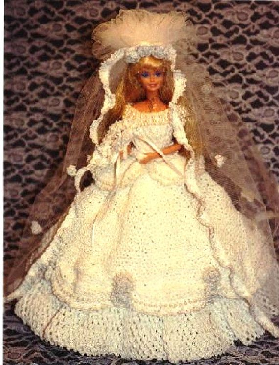 1) Mode Puppe HÄKELANLEITUNG für 11 1/2 Fashion Dolls wie Barbie ...