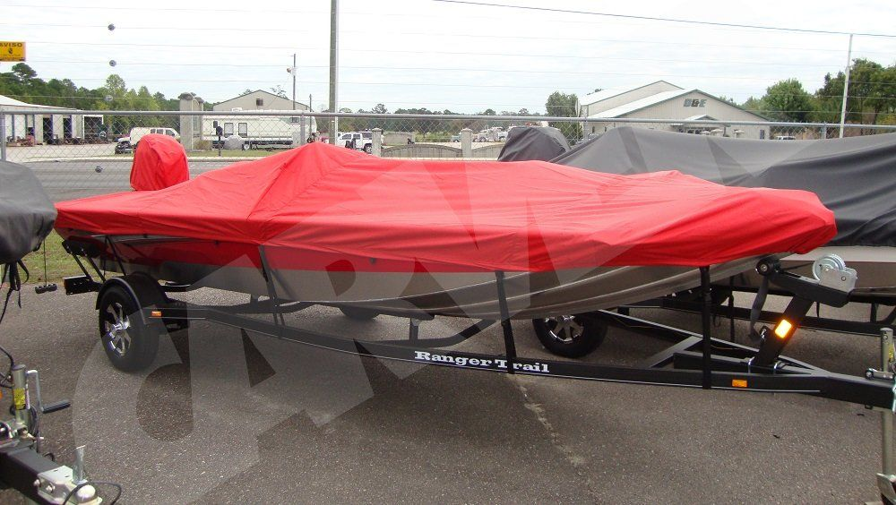 Choose Size and Color! Sun-DURA Boat Cover for Jon Style Bass Boat