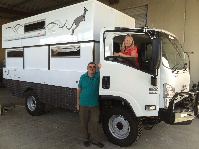 Isuzu mps300 camper truck build thank you i you