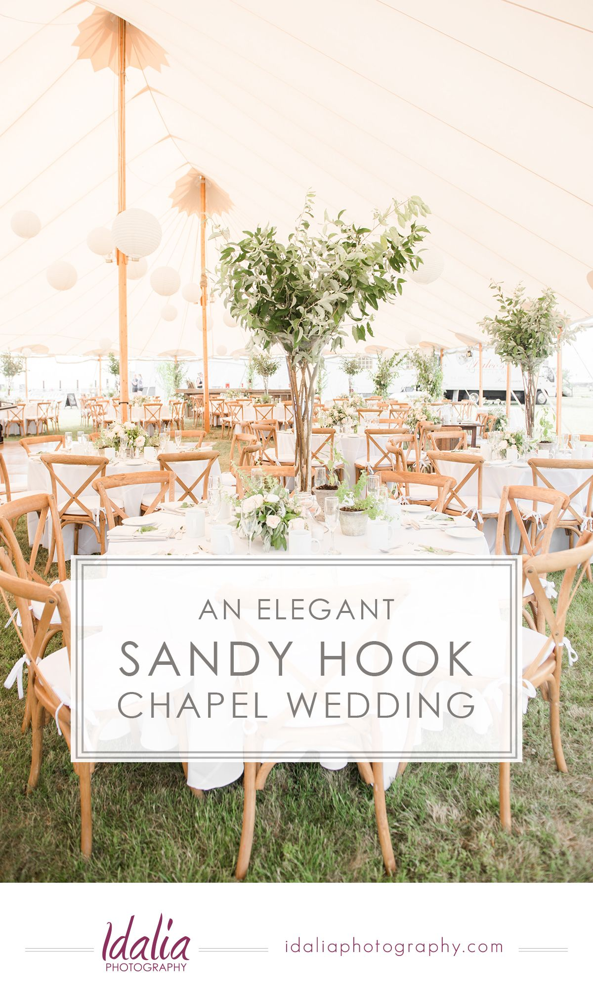 Sandy Hook Chapel Wedding Photos An Outdoor Day With Elegant Ivory Details