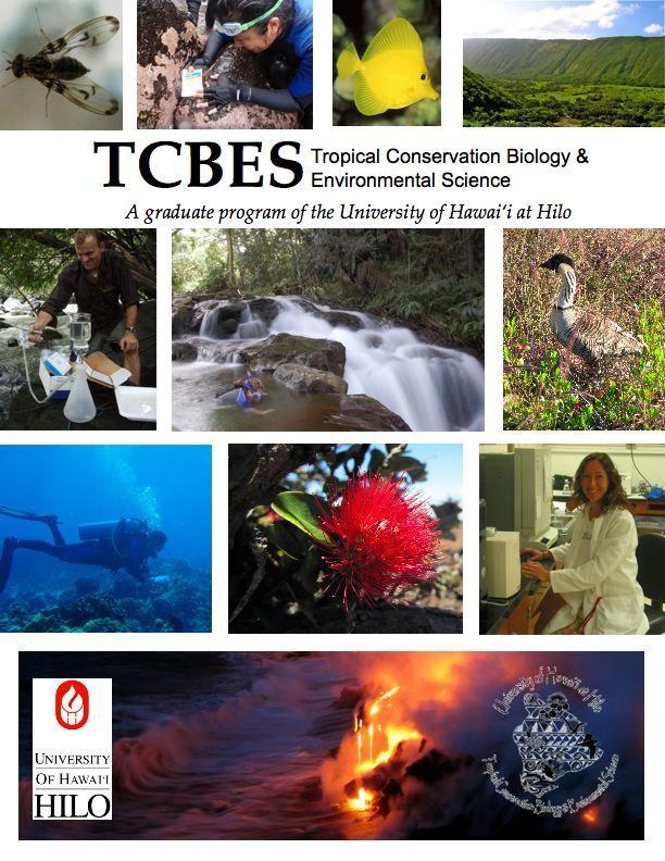 UH Hilo TCBES | Home Tropical Conservation Biology