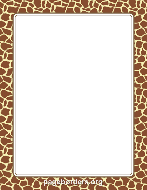 Pin by muse printables on page borders and border clip art for Leopard print invitations templates