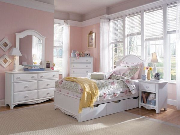 Spacious Girls White Bedroom Furniture | Carissa\'s room | Pinterest ...