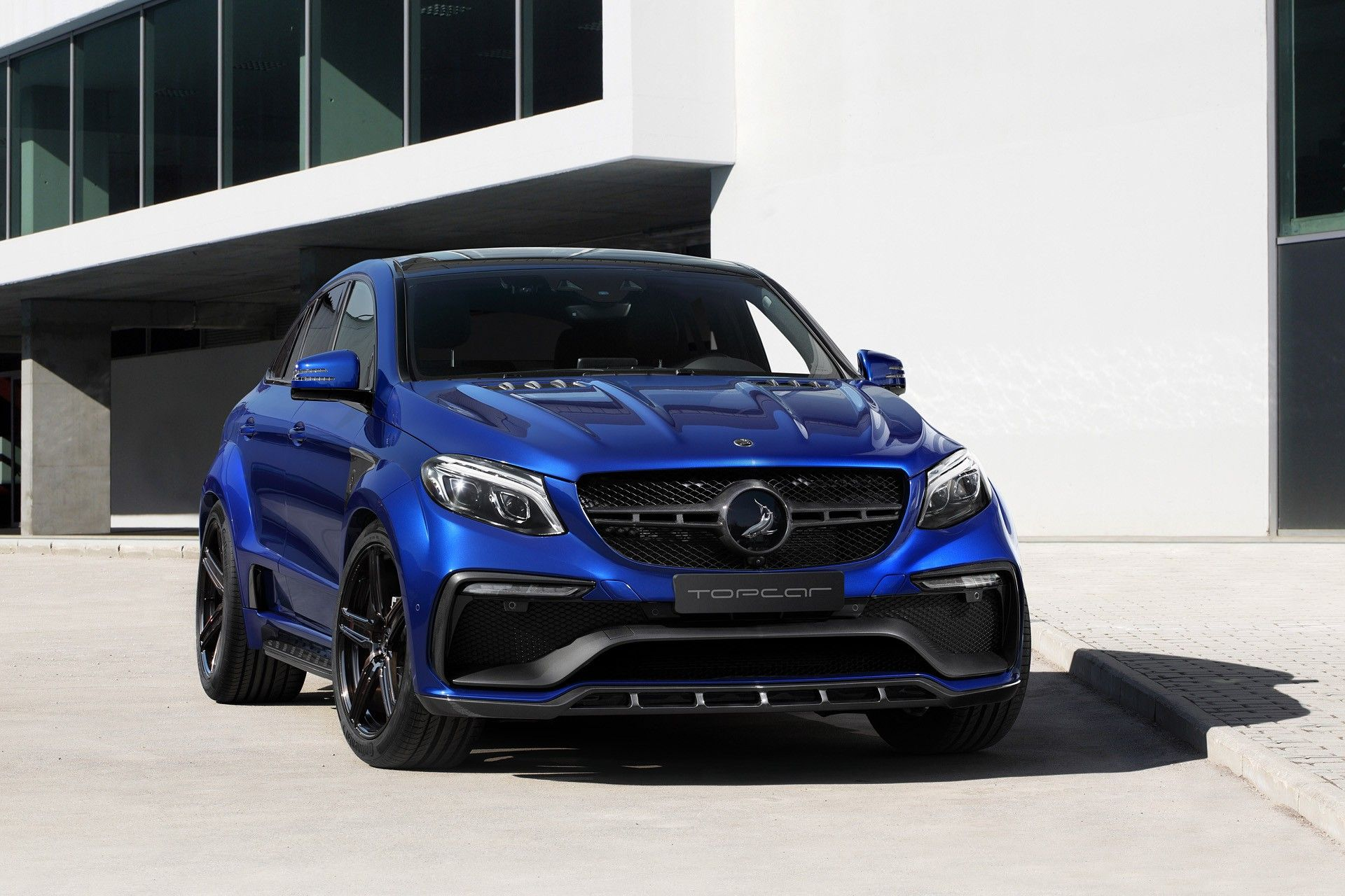 mercedes benz gle coupe inferno blue gem topcar truck and suv