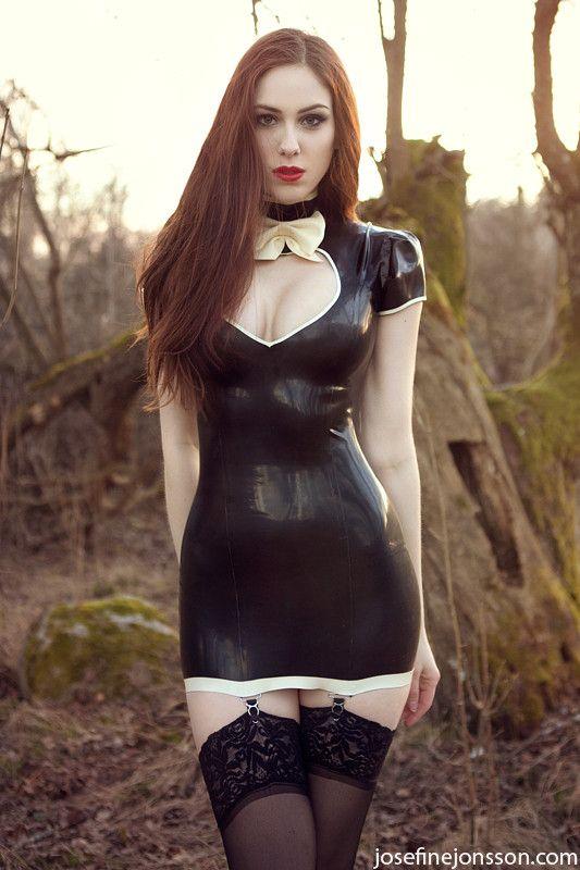 Goth Ass Captions Porn - Latex fashion