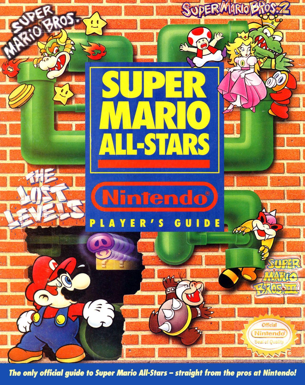 Nintendo Player's Guide - Super Mario All Stars (Super