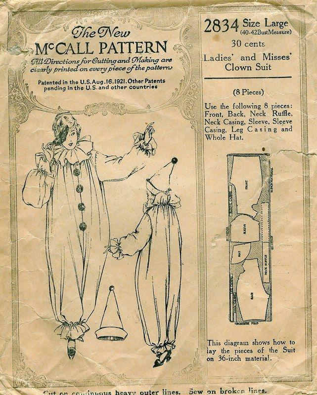 clown jumpsuit free pattern - Google zoeken