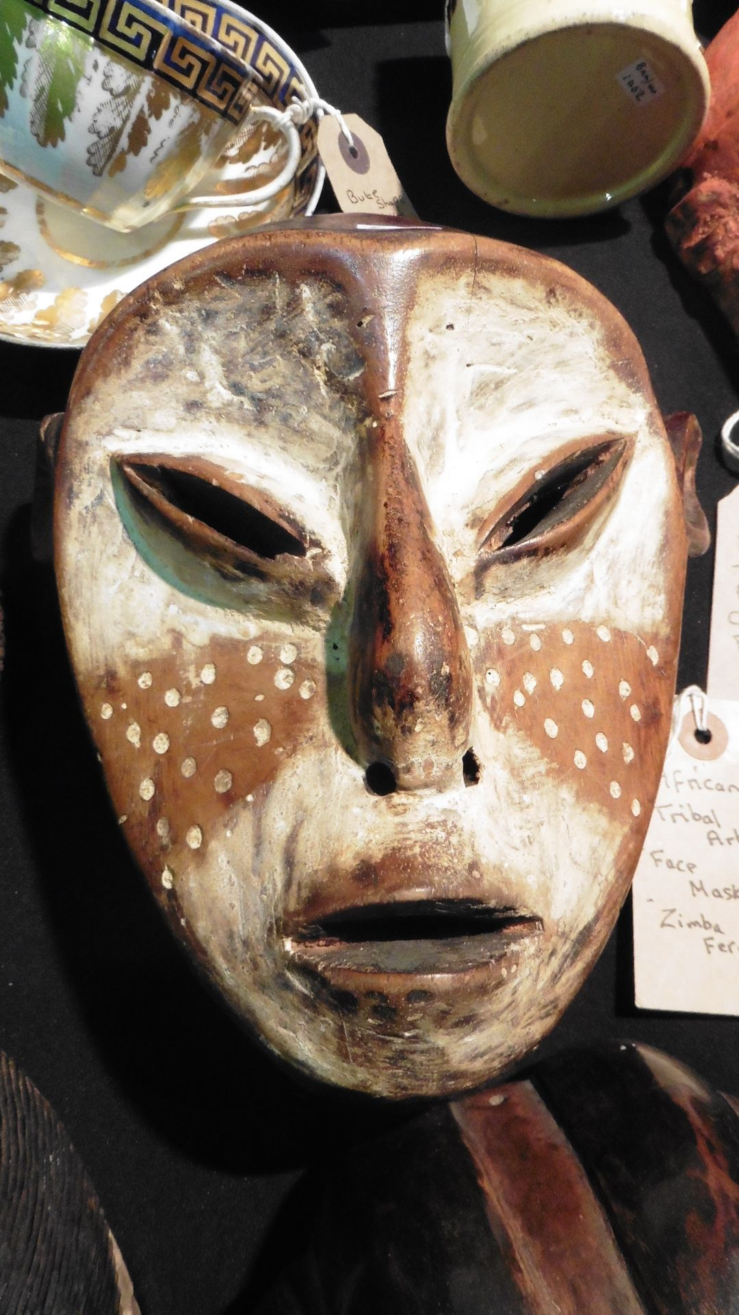 tribal art african masks for sale at v and a fairs southport antiques and collectors