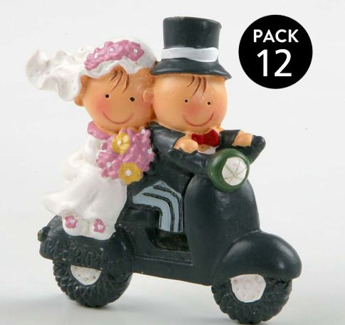 Bomboniere Matrimonio Moto.Confezione 12 Calamita Sposi In Moto Una Simpatica Idea Per Tutti