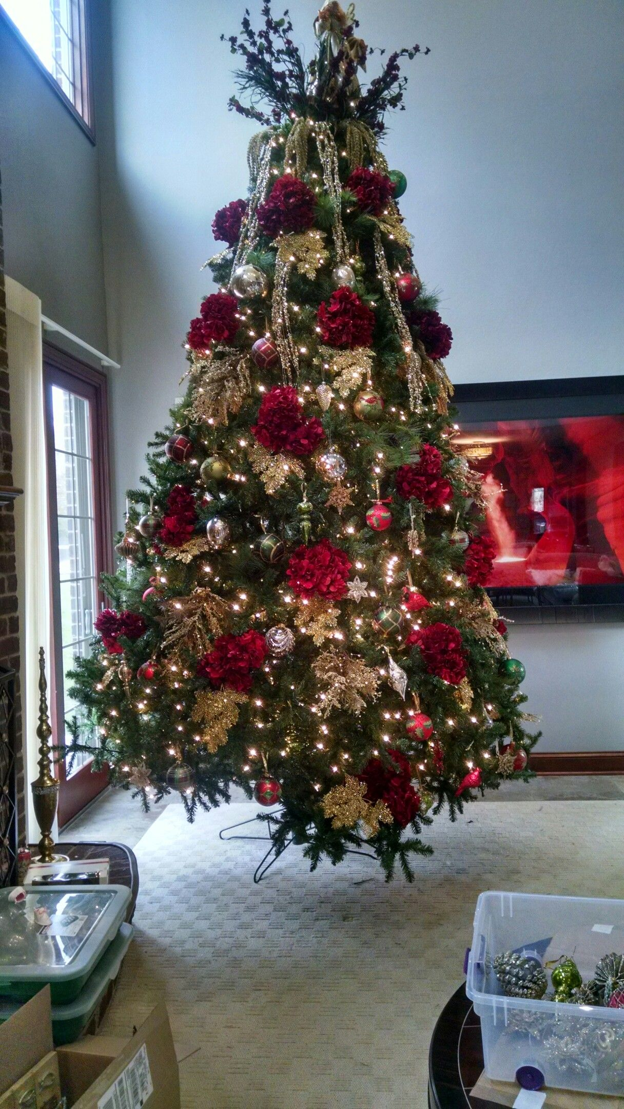 decorations for 12 to 15 feet christmas trees